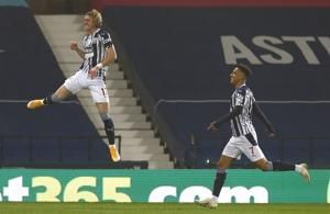 West Brom beats winless Sheff U 1-0 for first victory in EPL