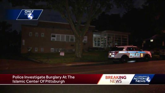 Police investigate burglary at the Islamic Center of Pittsburgh