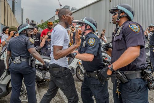 Black Protesters Arrested By NYPD Were Charged With Felony Way More Than White Demonstrators, Data Shows