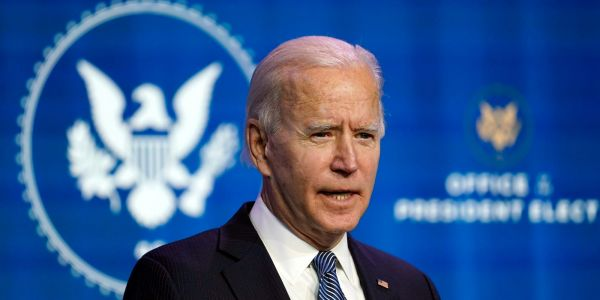 Joe Biden's stimulus plan would enact $400 weekly federal unemployment benefits through September 2021 - and it may continue beyond that date