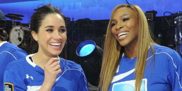 Serena Williams said Meghan Markle once secretly traveled to New York for one night with newborn Archie to watch her play in the US Open