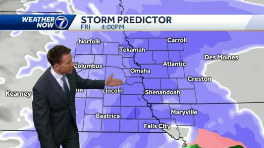 Cloudy and dry Thursday, Winter Weather Advisory in effect Friday