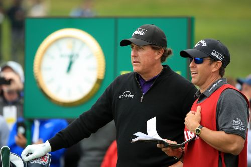 The US Open reality Phil Mickelson can no longer escape