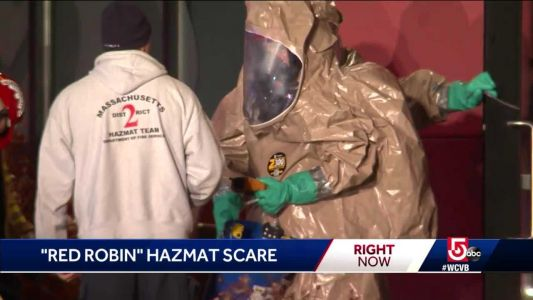 3 workers taken to hospital after hazmat scare at Red Robin