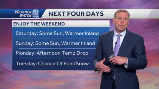 Weather: Cooler By The Lake
