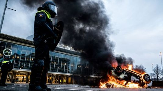 Angered By New Coronavirus Restrictions, Protesters In Netherlands Clash With Police