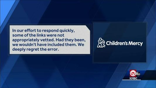 Kansas City's FOP upset by email sent by Children's Mercy Hospital