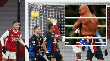 'You suck': Ex-WWE champ Kurt Angle slams Covid for keeping football fans out as Premier League side Arsenal adopt anthem