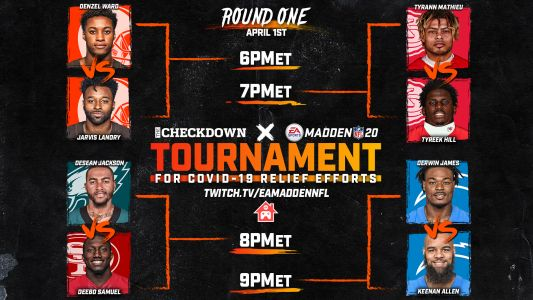 Madden NFL players tournament: Live stream, results from Tyrann Mathieu vs. Tyreek Hill & other matches