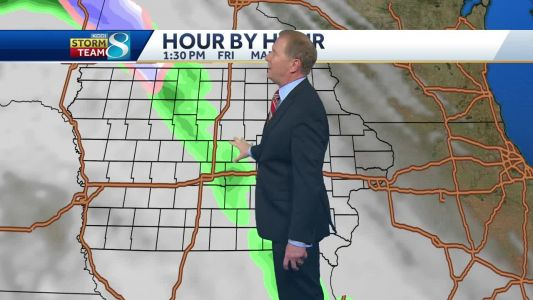 Videocast: Rain won't go away anytime soon