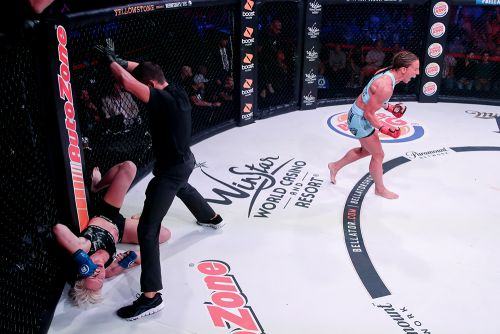 Bellator 224 highlights: Julia Budd has arguably her most dominant title defense