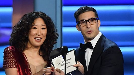 Sandra Oh, Andy Samberg will team up to host 2019 Golden Globe Awards