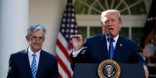Trump tells Fed to 'get smart' and slash interest rates so US can pay off record debt