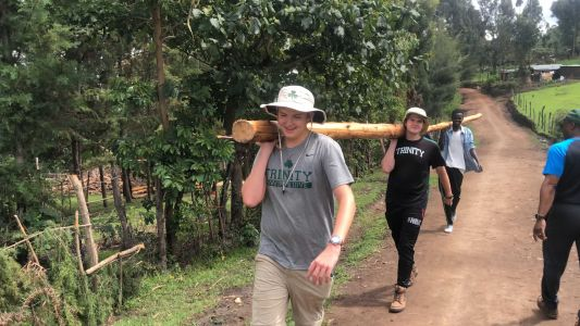 Trinity High students return from life-changing trip to Africa