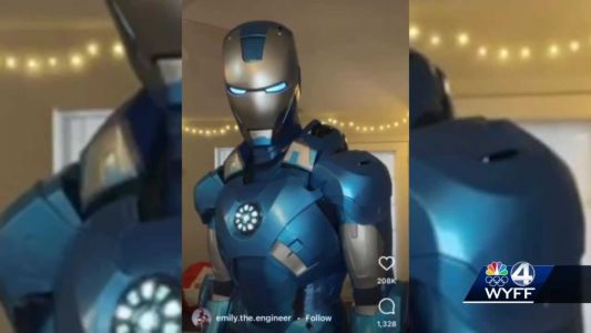 Clemson engineering grad goes viral for homemade Iron Man suit
