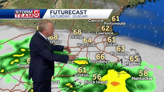 Video: Cloudy, cool, damp start to weekend