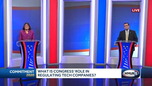 2020 NH 2nd District debate: Congress's role in regulating big tech companies