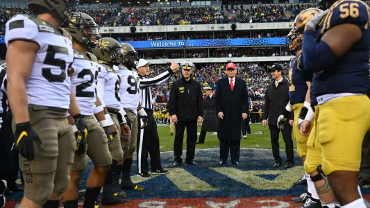 West Point, Annapolis investigating use of possible 'white power' hand signs during Army-Navy Game