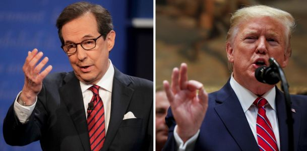 Trump bashed Fox News' Chris Wallace, saying he'd 'never be his father,' after Steve Scalise's contentious interview