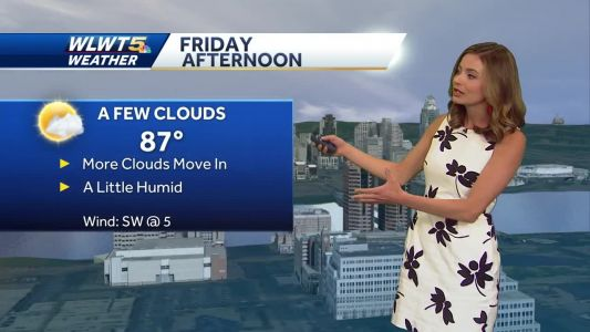 Another nice day tomorrow, but rain chances quickly move back in