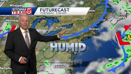 Video: A slight hint of fall by weekend?