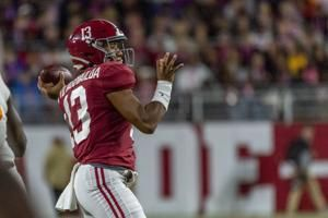 Alabama's Tagovailoa likely out 1 game with ankle injury
