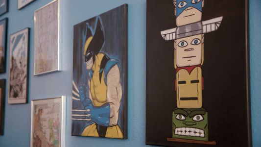 Comic book enthusiast on mission to give Native Americans pop culture representation