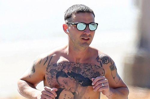 Shia LaBeouf's 'creeper' tattoos are the real deal for new movie
