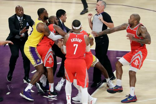 Rockets coach defends Chris Paul as NBA hands out fight penalties