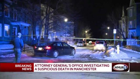 Suspicious death being investigated in Manchester, authorities say