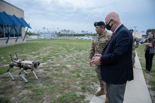 Acting SecAF visits Installation of the Future