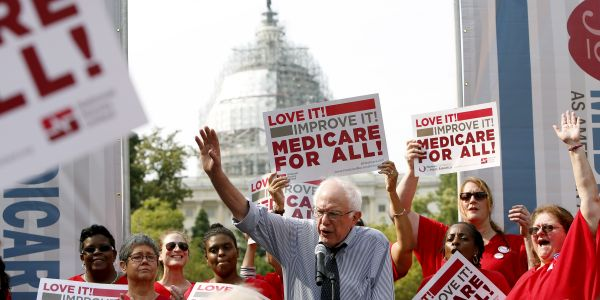 Bernie Sanders is surging in the polls. Here's how his 'Medicare for All' plan would affect every part of the $3.6 trillion US healthcare system