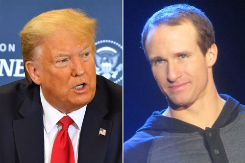 Trump says Drew Brees should not have backed off 'NO KNEELING!' stance