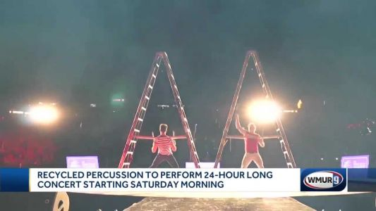 Recycled Percussion to perform 24-hour concert