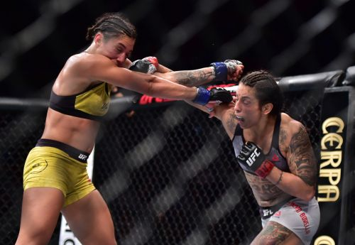 Taila Santos impressed by Montana De La Rosa's heart going into UFC on ESPN 19