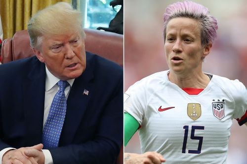 Trump blasts Megan Rapinoe for saying she won't visit White House if team wins World Cup