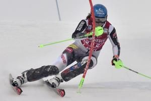 Vlhova wins 2nd slalom in 2 days, Shriffin finishes 5th