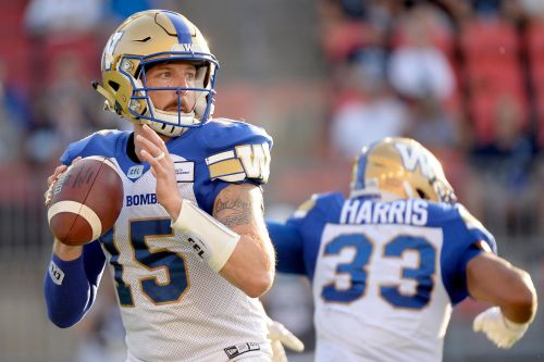 CFL: Winnipeg Blue Bombers and BC Lions will pile up points