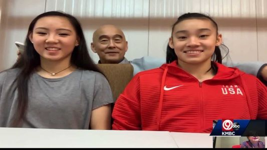 2 gymnasts deal with postponement of Olympics