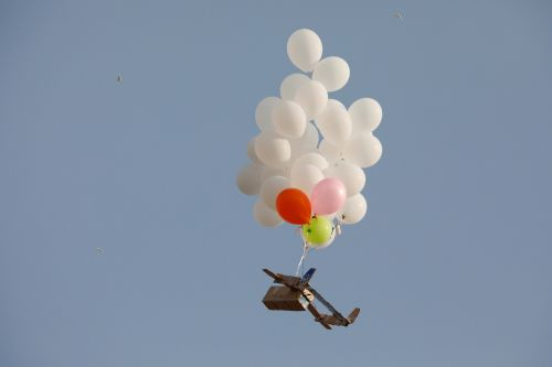 Palestinians are sending balloon bombs over the border to Israel