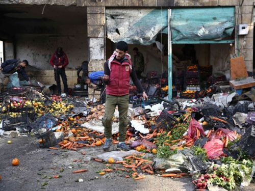 Bomb kills eight in Syrian town held by Turkish-backed opposition forces