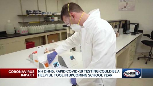 Health officials say rapid COVID-19 testing could be helpful in school year
