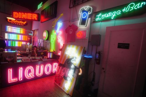 New York store keeps neon dream alive for 50 years
