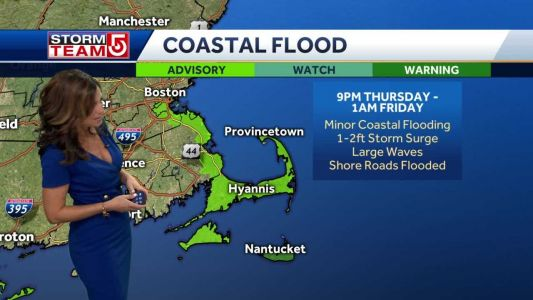 Video: Nor'easter to bring heavy rain, strong winds