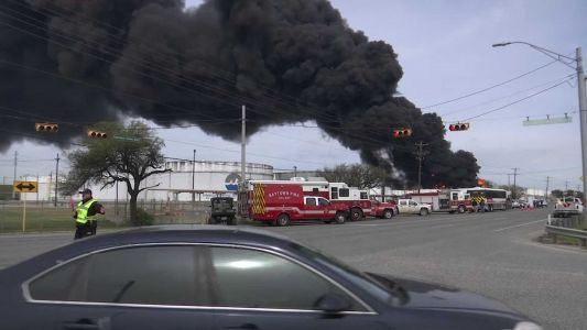 Fire at Texas plant could last 2 more days