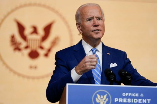 President-elect Biden urges unity against virus as President Trump stokes fading embers of campaign