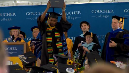 Goucher Prison Partnership student's graduation an inspiration to others