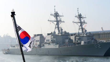 South Korea needles Tokyo with military drills around Japanese-claimed islets
