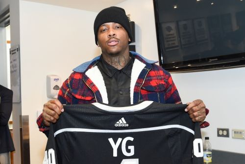 YG arrested after home raid, booked for robbery