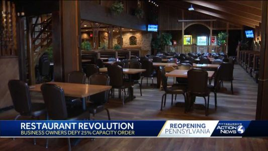 Pa. House approves restaurant capacity bill Wolf says he'll veto